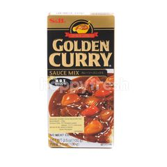 S&B Golden Curry Hot