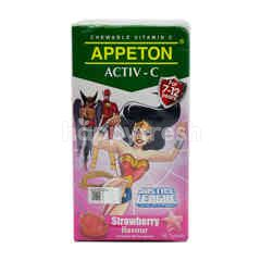 Appeton Strawberry Flavour Chewable Vitamin C