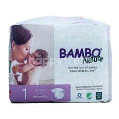 Bambo Nature Popok Bayi Baru Lahir Ukuran 1