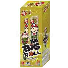 Tao Kae Noi Big Roll Grilled Seaweed Roll Spicy Grilled Squid Flavour (6 Packs)