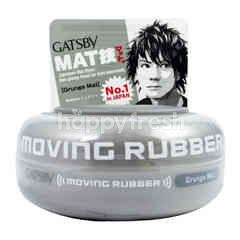 Gatsby Moving Rubber Grunge Mat Hair Wax