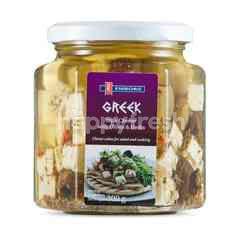 EMBORG Feta In Oil With Herbs & Olives