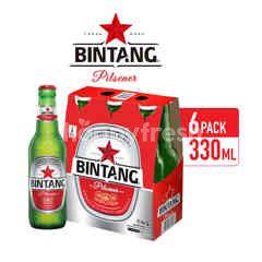 Bintang Pilsener Bottled Beer Multi-pack