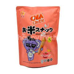 Ola Cheer Tomato Flavoured Wheat Rice Snack (6 Pieces)