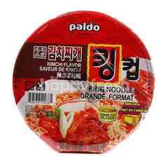 Paldo King Noodle Grande Format Kimchi Flavored