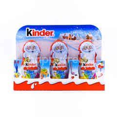 Ferrero Kinder Chocolate Santa Claus