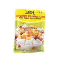 Lobo Agar-Agar Makanan Pencuci Mulut Rasa Almond Campur
