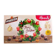 Van Houten Cokelat Susu dengan Almond