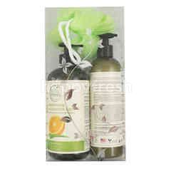 Petal Fresh Organics Moisturizing Bath&Shower Gel 475ml + Moisturizing Hand&Body Lotion 355ml
