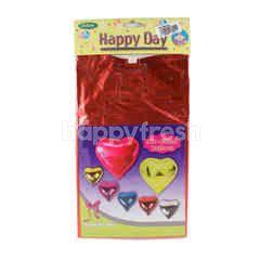 Ceria Happy Day Helium Balloon Love