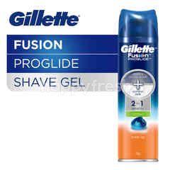 Gillette Fusion Proglide Gel Pencukur Cooling