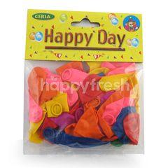 Ceria Happy Day Bomb Balloon Mini