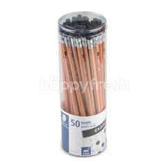 Staedtler Black Lead Pencil 2B 50 Pcs.