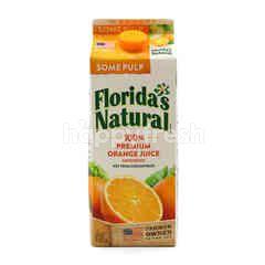 Florida's Natural 100% Premium Orange Juice (Some Pulp)