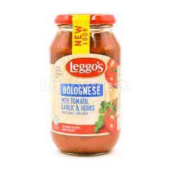 Leggo's Bolognese With Tomato, Garlic & Herbs Pasta Sauce