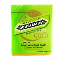 Wrigley's Doublemint Chewing Gum Gold