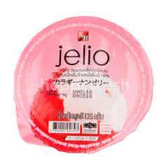 เจลิโอ เยลลี่ผสมเนื้อลิ้นจี้และน้ำลิ้นจี้ 10%