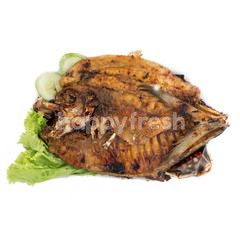 Thin Pompano Grilled Fish