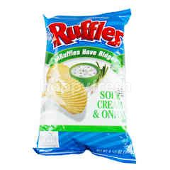 RUFFLES Sour Cream & Onion Potato Chips