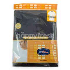 GT man Men's R Neck Shirt Type GTS01 Size XL Black