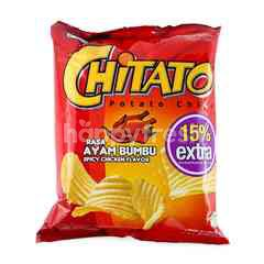Chitato Potato Chips Spicy Chicken