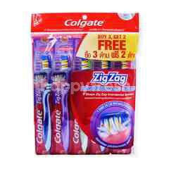 Colgate Zig Zag Soft Tooth Brush (5S)