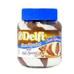 Delfi Chocolate Hazelnut And Milk Spread
