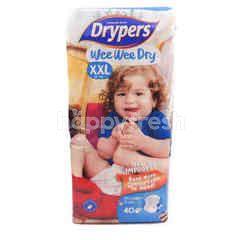 Drypers Wee Wee Dry Mega Pack Diapers XXL40