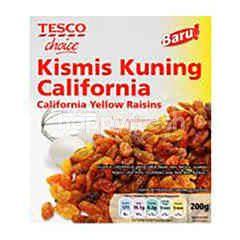 TESCO CHOICE California Yellow Raisins