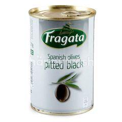 Fragata Spanish Olives Pitted Balck