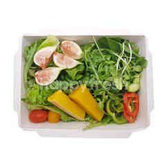 สวีท แอนด์ กรีน สลัดบ๊อกซ์ผักรวมและผลไม้