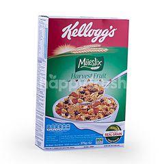 Kellogg's Sereal Campuran dengan Kismis, Kurma, Peach, Apel Kering dan Almond