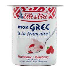 Elle & Vire Greek Style Raspberry Yogurt