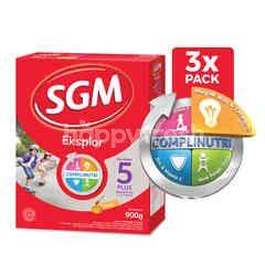 SGM Eksplor Presinutri 5 Plus Susu Bubuk Rasa Madu untuk Anak Usia 5-12 Tahun