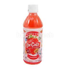 I'm Coco Minuman Nata De Coco Strawberry