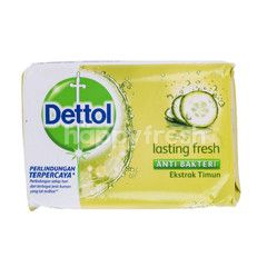 Dettol Lasting Fresh Anti Bacterial Bar Soap