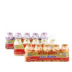 VITAGEN Assorted Vitagen Cultured Milk Drink Less Sugar (Choose Any 2)