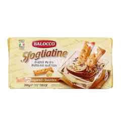 Balocco Sfogliatine Sugared Pastry Puffs