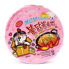 Samyang Carbonara Hot Chicken Flavour Ramen Instant Noodle Big Bowl