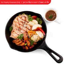 You Hunt We Cook Chicken Steak Set