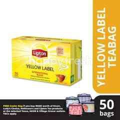 Lipton Yellow Label Black Tea 50 Tea Bag