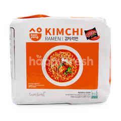 Samyang Kimchi Ramen Instant Noodle (5 Packets)