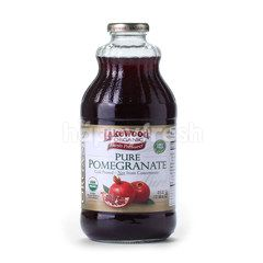 Lakewood Organic Fresh Pressed Pure Pomegranate Juice