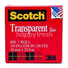 Scotch Selotip Transparan 1 Roll (19mm x 32,9m)