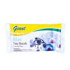 Giant Cleansing Tissue Blue