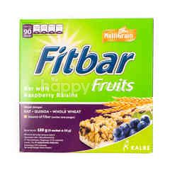 Fitbar Bar Fruits Source of Fiber