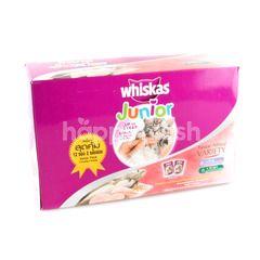 Whiskas Junior Mixed Variety Cat Foods