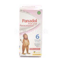 Panadol Anak-Anak Paracetamol Rasa Jeruk Di Atas 6 tahun