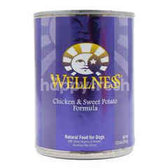 Wellness Makanan Anjing Formula Daging Ayam dan Ubi Manis