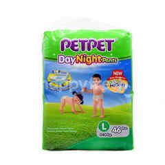 PETPET Day Night Pants Size L (46 Pieces)